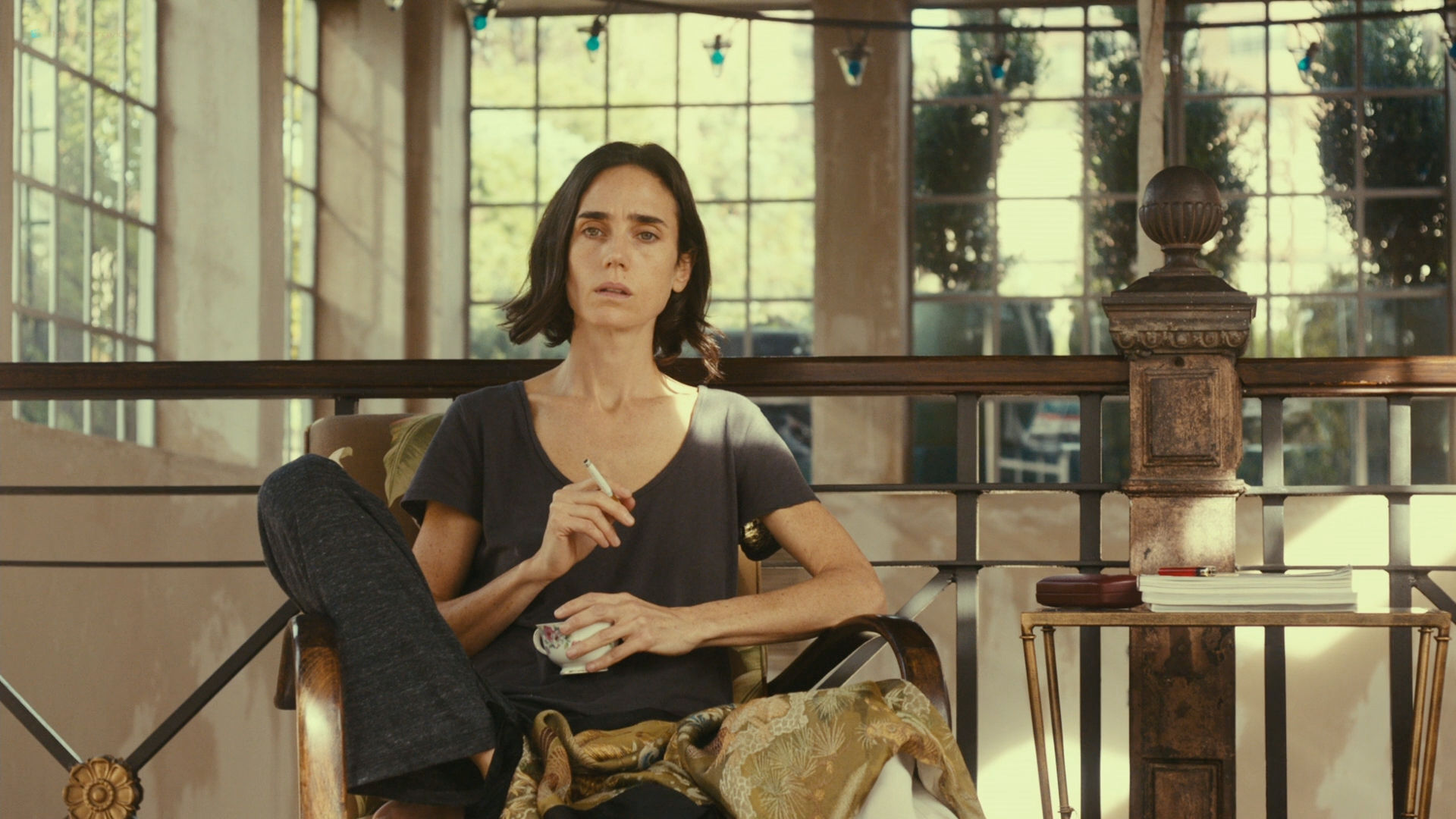 Jennifer Connelly nude bush - Shelter (2014) HD 1080p BluRay (13)