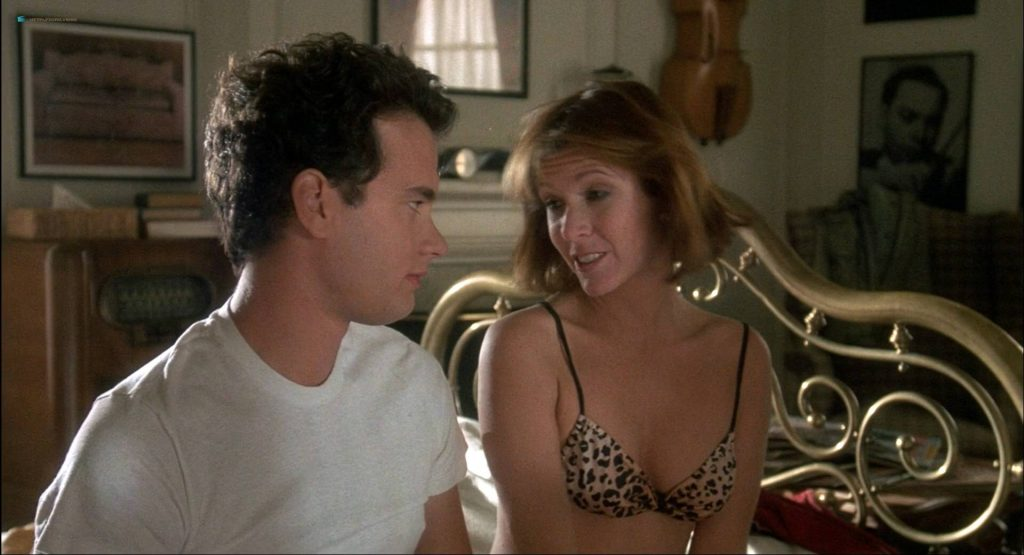 Lori Singer hot and sexy Carrie Fisher sexy underwear - The Man with One Red Shoe (1985) HD 1080p WEB (11)