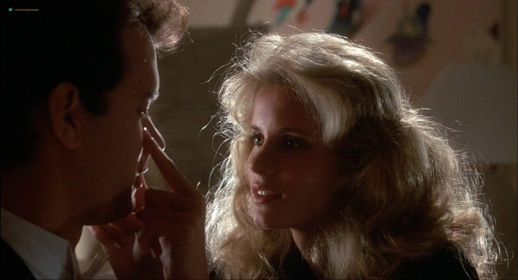 Lori Singer hot and sexy Carrie Fisher sexy underwear - The Man with One Red Shoe (1985) HD 1080p WEB (4)