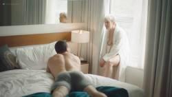 Natalie Joy Johnson bush sex threesome near explicit Alex Auder bush Nyseli Vega boobs - High Maintenance (2018) S2 HD 1080p (19)