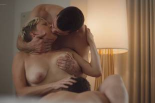 Natalie Joy Johnson bush sex threesome near explicit Alex Auder bush Nyseli Vega boobs – High Maintenance (2018) S2 HD 1080p