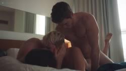 Natalie Joy Johnson bush sex threesome near explicit Alex Auder bush Nyseli Vega boobs - High Maintenance (2018) S2 HD 1080p (12)