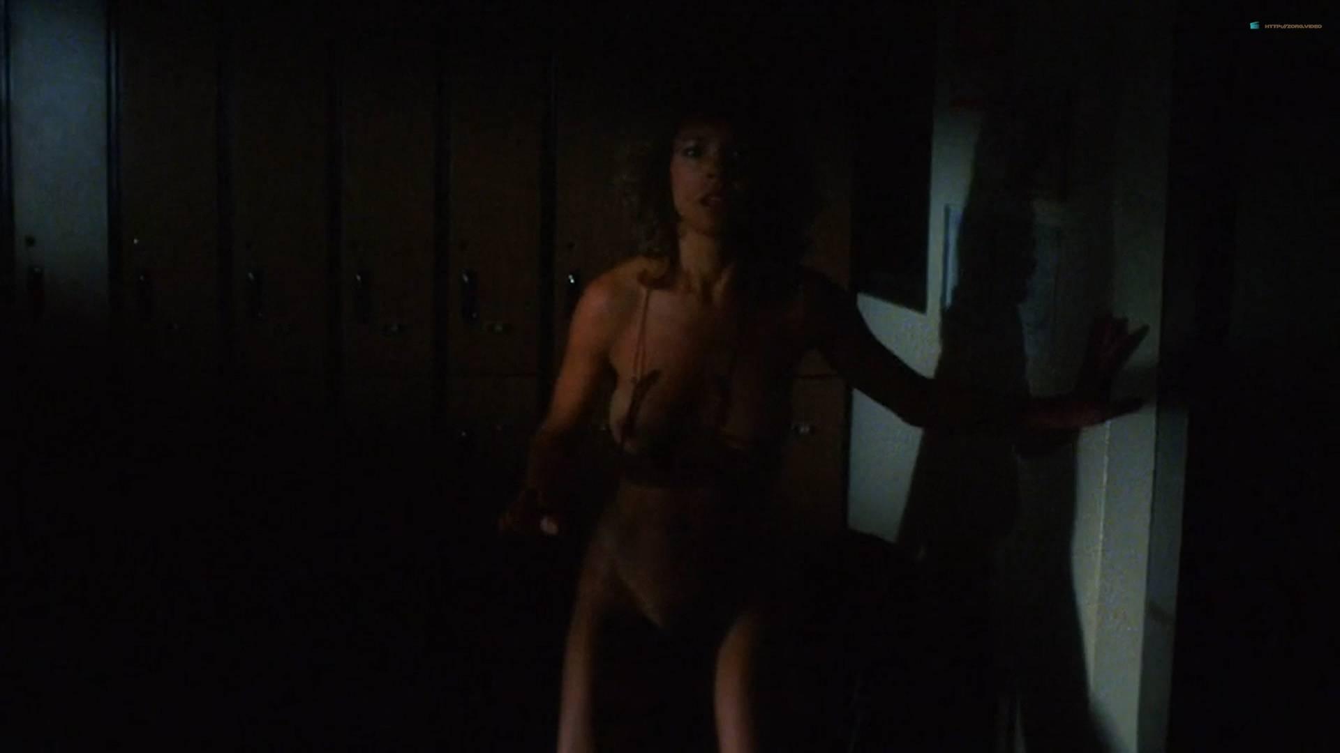 Brinke Stevens nude full frontal Michelle Bauer nude sex - Sorority Babes in the Slimeball Bowl-O-Rama (1988) HD 1080p (4)