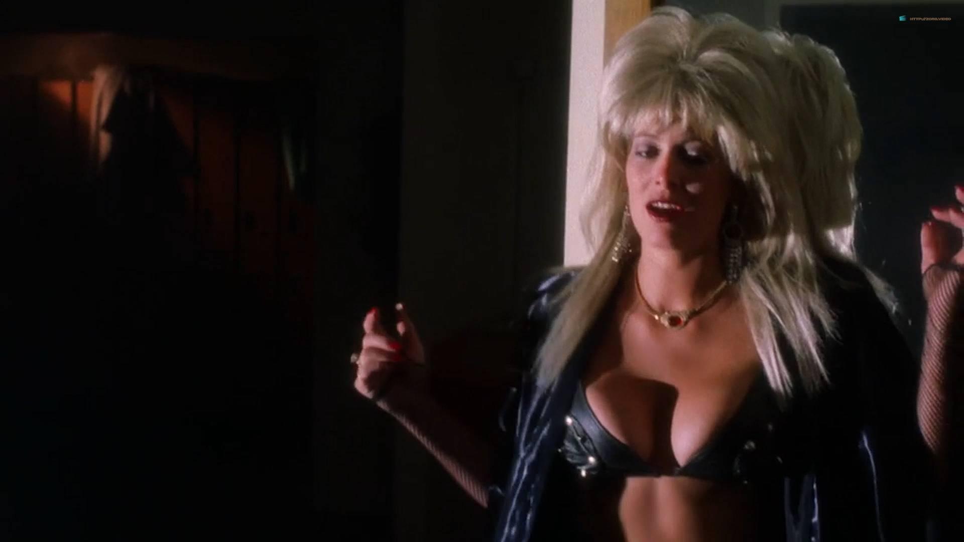 Brinke Stevens nude full frontal Michelle Bauer nude sex - Sorority Babes in the Slimeball Bowl-O-Rama (1988) HD 1080p (2)