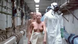 Leesa Rowland nude topless Trinity Loren and others nude too - Class of Nuke 'Em High Part II (1991) HD 720p (12)