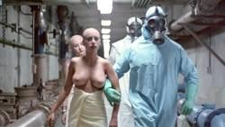 Leesa Rowland nude topless Trinity Loren and others nude too - Class of Nuke 'Em High Part II (1991) HD 720p (11)