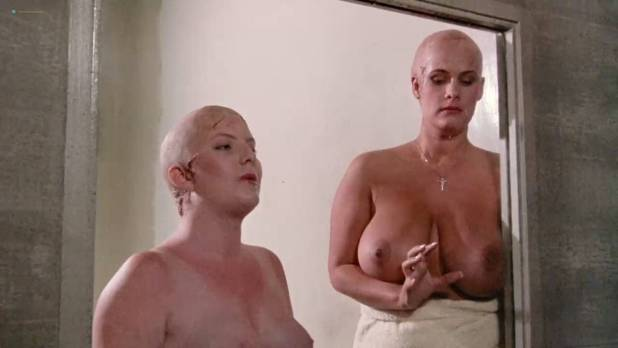 Leesa Rowland nude topless Trinity Loren and others nude too - Class of Nuke 'Em High Part II (1991) HD 720p (8)