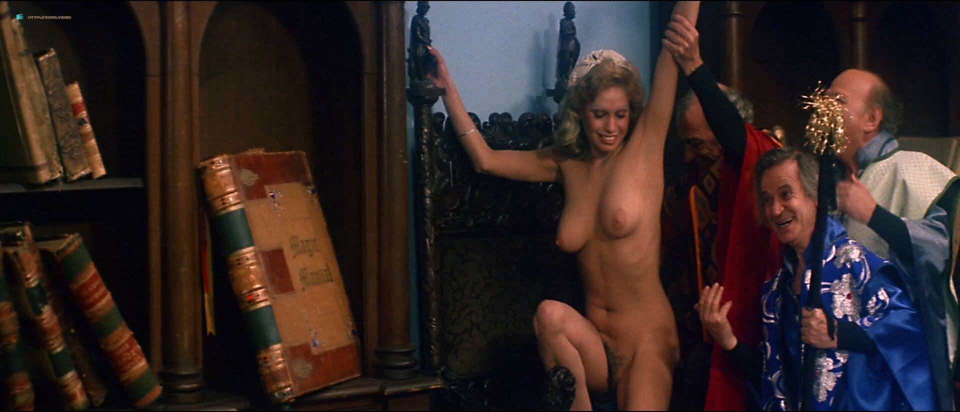 Linnea Quigley nude bush Angela Aames nude full frontal others nude - Fairy Tales (1978) HD 1080p (14)