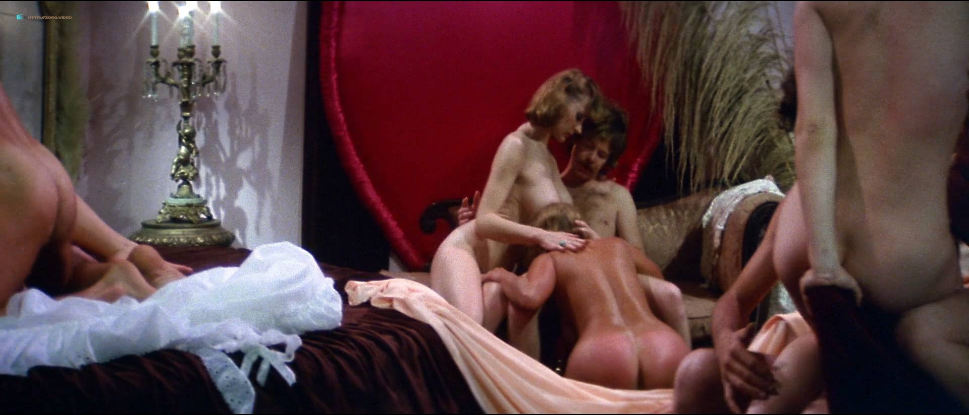 Linnea Quigley nude bush Angela Aames nude full frontal others nude - Fairy Tales (1978) HD 1080p (4)