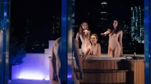 Maggie Siff sexy Valéry Lessard, Anna Tyson, Katelyn Pearce, Marion Dunn all nude - Billions (2018) s3e7 HD 1080p (7)
