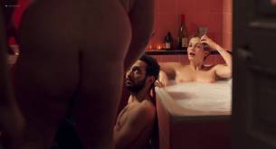 Margot Bancilhon nude topless Camille Razat nude butt boobs and sex - Ami-ami (FR-2018) HD 1080p BluRay (4)