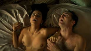 Paulina Gaitán nude topless and lot of sex - Diablo Guardián (MX-2018) s1e-6-8 HD 1080p Web