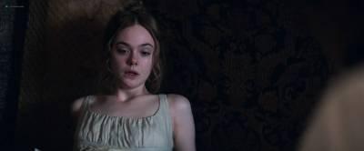 Elle Fanning hot Bel Powley sexy - Mary Shelley (2017) HD 1080p Web (2)