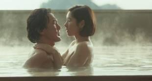 Hitomi Kuroki nude topless and sex - Lost Paradise (1997) HD 1080p web (9)