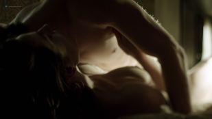 Antje Traue nude toples in one sex scene - Weinberg (DE-2015) s1e1 HD720p