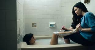 Bel Powley nude nip slip in the tube and sexy - Wildling (2018) Hd 1080p WEB (5)