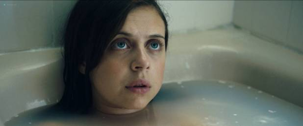 Bel Powley nude nip slip in the tube and sexy - Wildling (2018) Hd 1080p WEB (4)