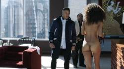 Chelsea Watts nude topless butt and sex doggy style - Power (2018) s5e2 HD 1080p (10)