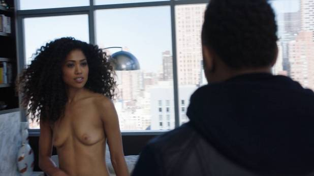 Chelsea Watts nude topless butt and sex doggy style - Power (2018) s5e2 HD 1080p (9)