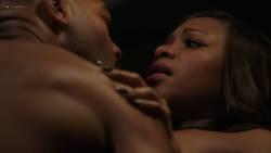 Naturi Naughton nude topless in sex scene Lela Loren nude boobs - Power (2018) s5e7 HD 1080p (4)