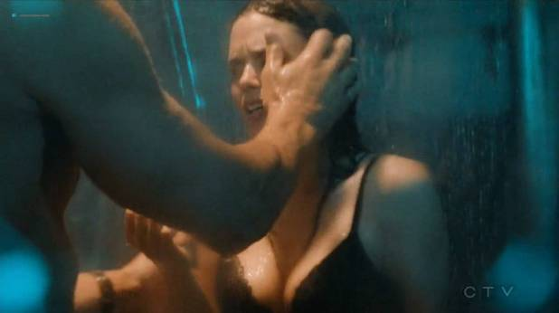 Rachel Bilson hot sexy and wet in undies and bra - Take Two (2018) s1e7 HDTV 720p (4)