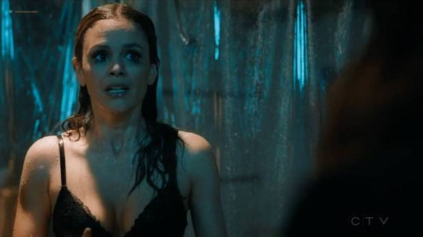 Rachel Bilson hot sexy and wet in undies and bra - Take Two (2018) s1e7 HDTV 720p (2)