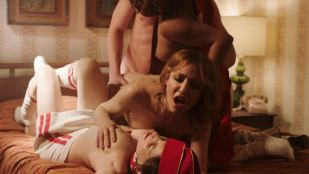 Anjelica Bosboom nude threesome with Erika Smith, Maggie Gyllenhaal, Emily Meade hot - The Deuce (2018) s2e3 HD 1080p