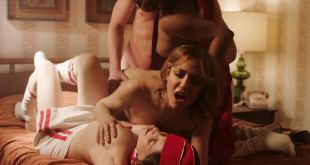Anjelica Bosboom nude threesome with Erika Smith, Maggie Gyllenhaal, Emily Meade hot - The Deuce (2018) s2e3 HD 1080p (7)