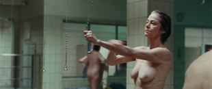 Charlotte Rampling nude topless in the shower - Hannah (2017) HD 1080p BluRay