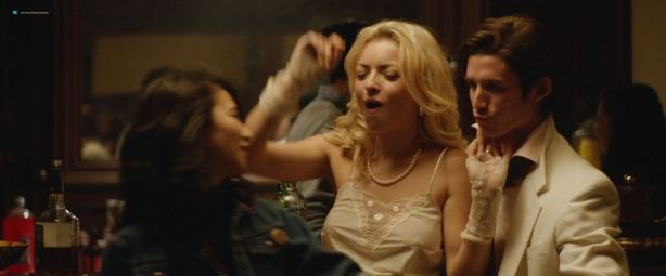 Francesca Eastwood nude and Annie Q nude too sex threesome - MDMA (2017) HD 1080p (11)