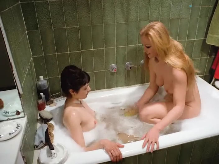 Lina Romay nude full frontal Alice Arno and Tania Busselier nude sex - How to Seduce a Virgin (1974) (8)