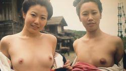 Miho Wakabayashi nude topless and sex Reina Yukara, Tomoko Harazaki, and others nude too - Suffering of Ninko (JP-2016) HD 1080p (15)