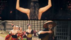 Miho Wakabayashi nude topless and sex Reina Yukara, Tomoko Harazaki, and others nude too - Suffering of Ninko (JP-2016) HD 1080p (13)