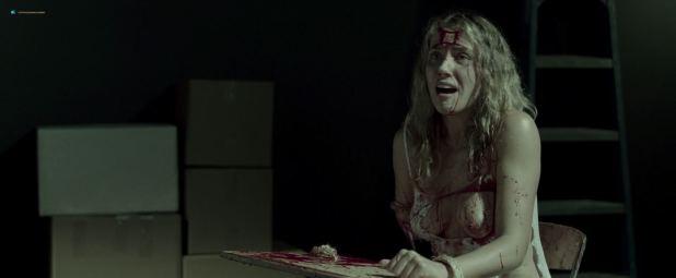 Mischa Barton hot and Maria Volk nude topless - The Basement (2018) HD 1080p (9)