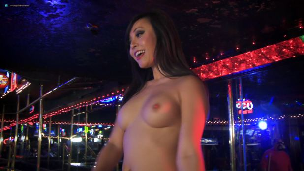 Catherine Annette nude topless Cindy Lucas, Erika Jordan and others nude as strippers - After Midnight (2014) HD 1080p (9)