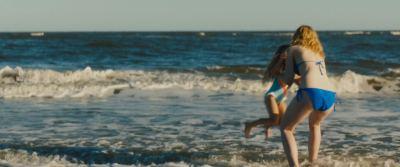 Elle Fanning hot sexy and wet in bikini - Galveston (2018) HD 1080p (10)