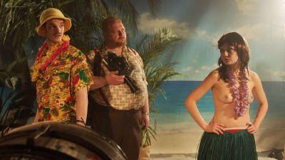 Emily Meade nude blow job, Margarita Levieva and Adelind Horan sexy - The Deuce (2018) s2e4 HD 1080p (9)