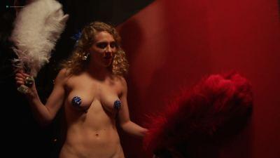 Emily Meade nude blow job, Margarita Levieva and Adelind Horan sexy - The Deuce (2018) s2e4 HD 1080p (3)