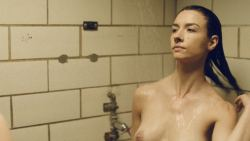 Cortney Palm nude topless in shower Lindsay Hartley and other nude - Death House (2017) HD 1080p (7)