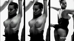 Emily Ratajkowski nude full frontal in photoshoot for Treats (2012) HD 1080p (8)