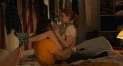 Emma Roberts hot and lot of sex Dree Hemingway nude boobs - In a Relationship (2018) HD 1080p WEB (12)