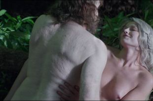 Kajsa Mohammar nude topless and sex outdoor – Viking Destiny (2018) HD 1080p