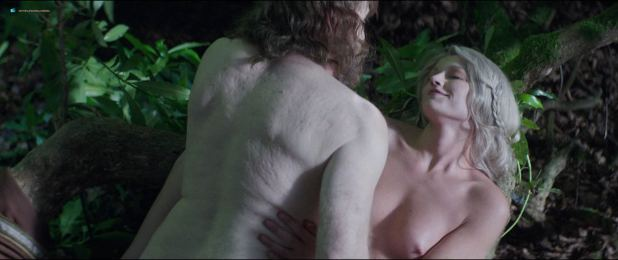 Kajsa Mohammar nude topless and sex outdoor - Viking Destiny (2018) HD 1080p (9)