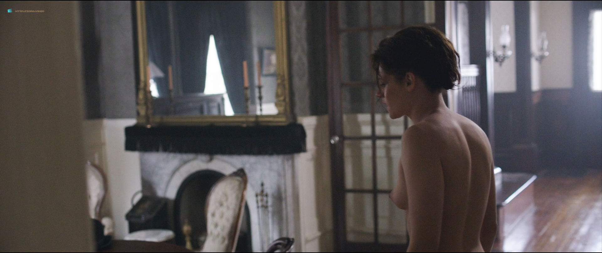 Kristen Stewart nude topless Chloe Sevigny nude topless and butt - Lizzie (2018) HD1080p BluRay (7)