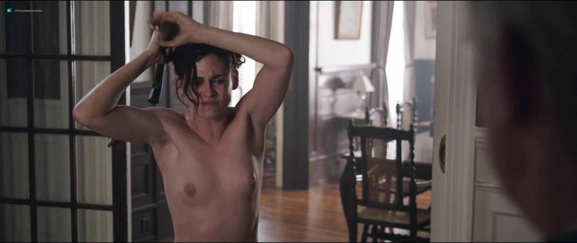Kristen Stewart nude topless Chloe Sevigny nude topless and butt - Lizzie (2018) HD1080p BluRay (3)