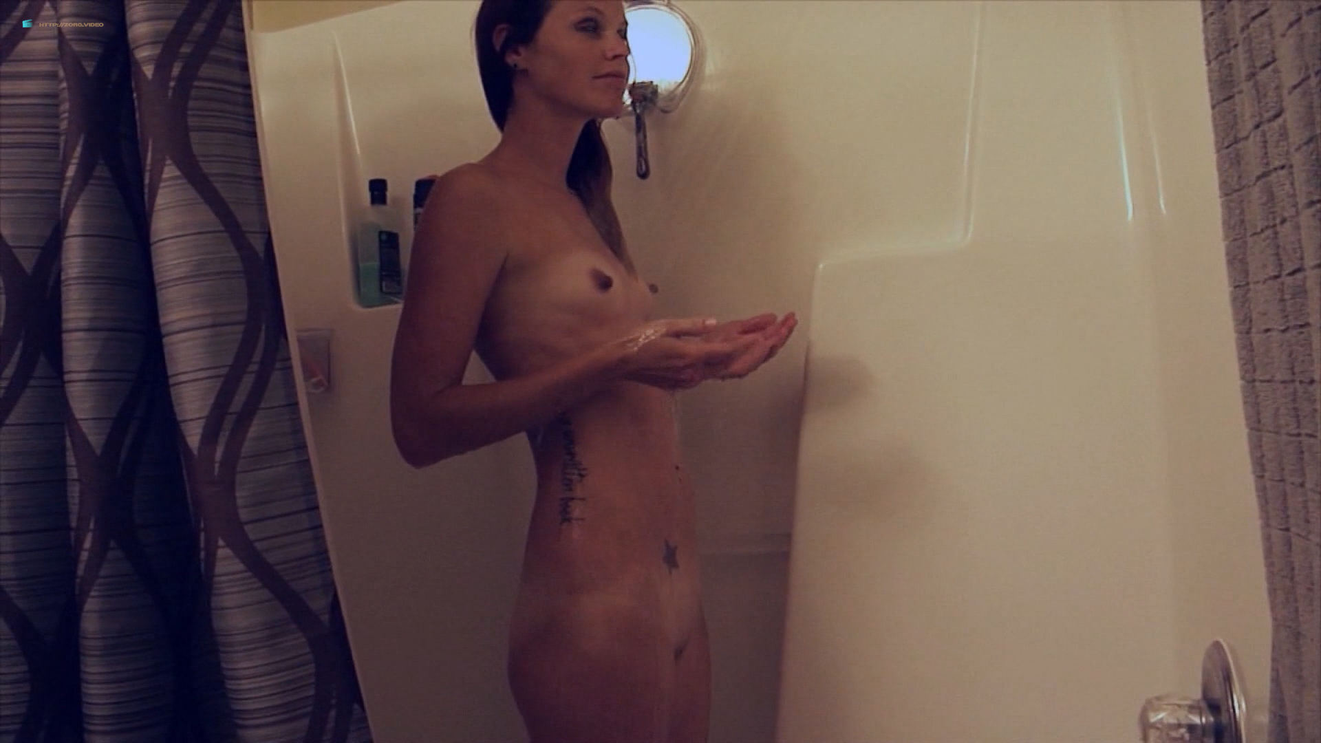 Nadia White nude bush in the shower Kody Evans nude too - Midnight Macabre (2017) HD 1080p (2)