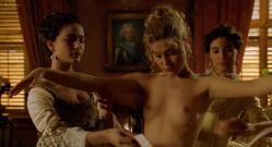 Gabriella Pession nude topless and sex Lola Pagnani nude full frontal - Ferdinando and Carolina (1999) HD 1080p (17)