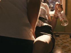 Kierston Wareing nude topless Katie Jarvis hot - Fish Tank (UK-2009) HD 720p (12)
