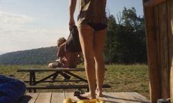 Laia Costa nude butt and bush - Maine (2018) HD 1080p Web (5)