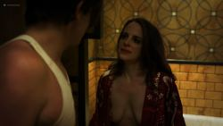 Mia Wasikowska nude topless and Maria Dizzia nude and sex - Piercing (2018) HD 1080p Web (8)